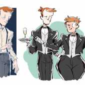 Within Skizzen 31 butler au 4 jay